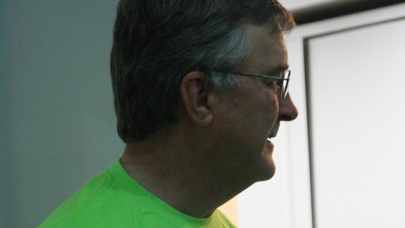 Dr Hammel on Clay Center Family Dental Care Dental Mission day
