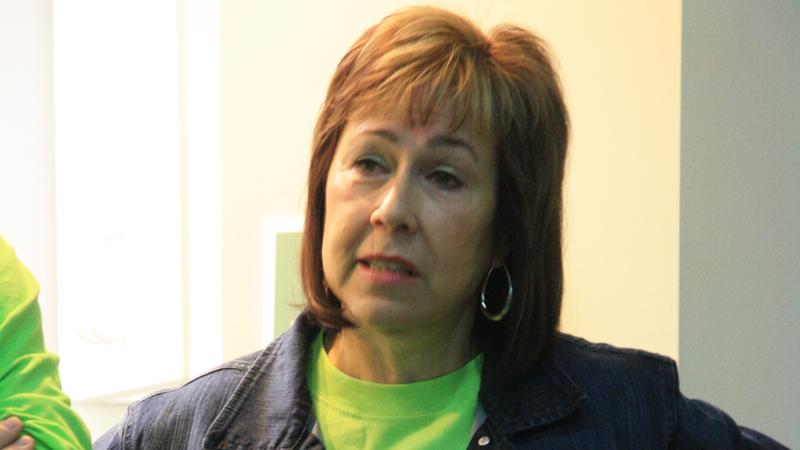 Nancy Hammel on Clay Center Family Dental Care Dental Mission day
